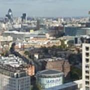 London Eye View- 2 Art Print