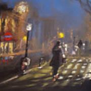London Fog 2 Art Print