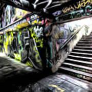 London Graffiti Art Art Print