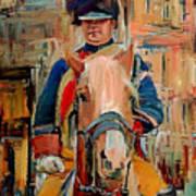 London Guard On Horse Art Print
