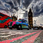 London In One Picture Art Print