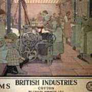 London Midland And Scottish Railway, British Industries - Retro Travel Poster - Vintage Poster Art Print