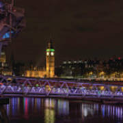London Nights Art Print
