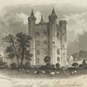 London Tattershall Castle, Lincolnshire. Published 1 Dec 1849 Art Print
