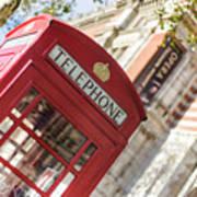 London Telephone 3 Art Print