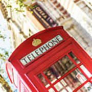 London Telephone 3 Art Print
