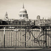 London Thames 1 Art Print