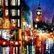 London's Lights Art Print
