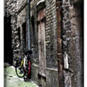 Lone Bike In France Art Print
