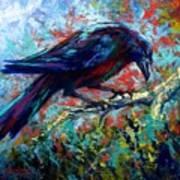 Lone Raven Art Print