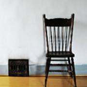 Lone Seat Art Print
