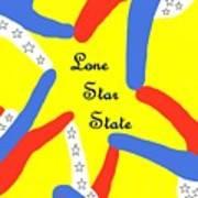 Lone Star State Art Print