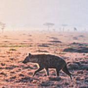 Lonely Hunter Art Print
