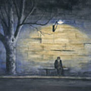 Lonely In Paris Art Print