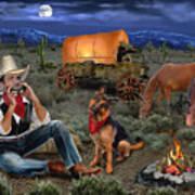 Lonesome Cowboy Art Print