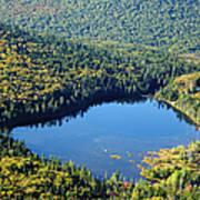 Lonesome Lake - White Mountains New Hampshire Usa Art Print