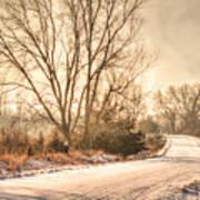 Lonesome Road Art Print