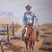 Lonesome Trail Art Print