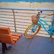 Long Beach Cruiser Art Print