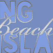 Long Beach Island Art Print