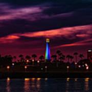Long Beach Lighthouse II Art Print