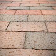Long Bricked Walks Art Print