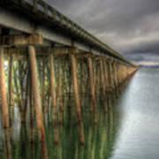 Long Bridge  Art Print