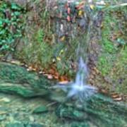 Long Exposure Waterfall Art Print