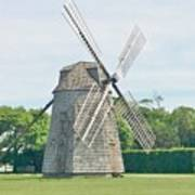 Long Island Wind Mill Art Print
