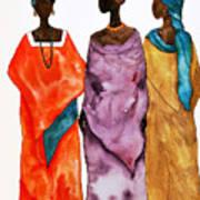 Long Ladies Art Print