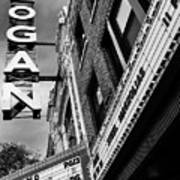 Long Live Logan Logan Theatre Art Print