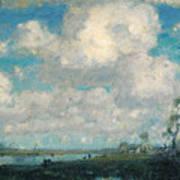 Long Point Marsh Art Print
