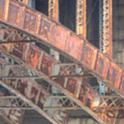 Longfellow Bridge Arches IIi Art Print