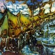 Longhouse Art Print