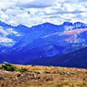 Longs Peak Rocky Mountain National Park Art Print