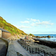 Looe Boathouse Art Print