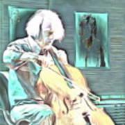 Look The Musician Plays Art Print