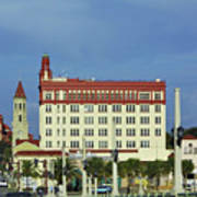 Looking Back At St Augustine Art Print