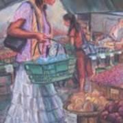 Looking Fine at the Farmer's Market Art Print