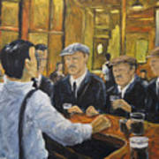 Looking In The Pub Art Print