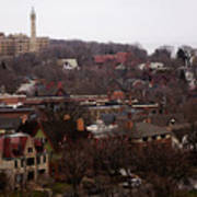 Looking North From  Lafayette And Summit. Art Print