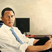 Looking Presidential Art Print by Patrick Hunt