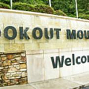 Lookout Mountain Art Print
