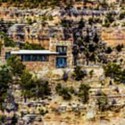 Lookout Studio @ Grand Canyon Art Print