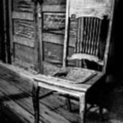 Loomis Ranch Chair Art Print