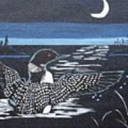 Loon Art Print