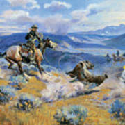 Loops And Swift Horses Are Surer Than Lead Art Print
