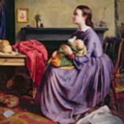 Lord - Thy Will Be Done Art Print by Philip Hermogenes Calderon