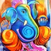 Lord Ganesh  Art Print