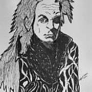 Lord Vampire Art Print